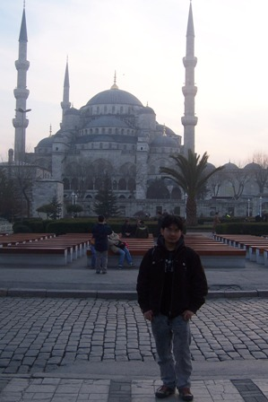 Masjid Biru.Hari terakhir diIstanbul.