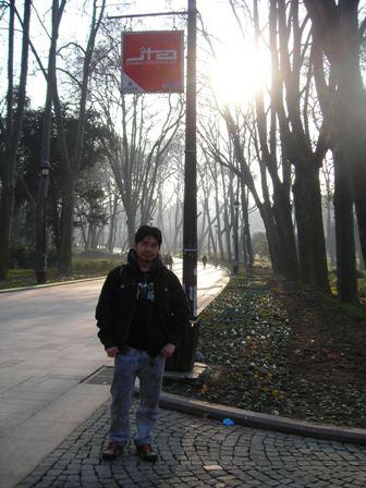 Taman dekat dengan TopkapiPalace.