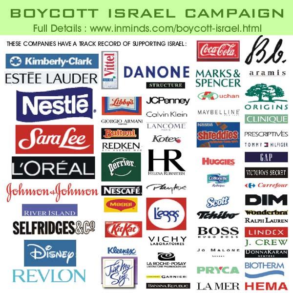 boikot Israel!